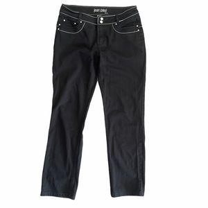 JEAN PAUL Gaultier VTG Black Straight Leg Jeans 42